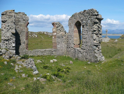 Ruins of Saint Dwynwen's Church