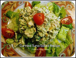 Curried Tuna Salad with Crunchy Apple and Fresh Herbs