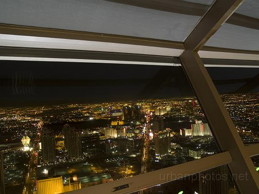 View from the Stratosphere observation deck