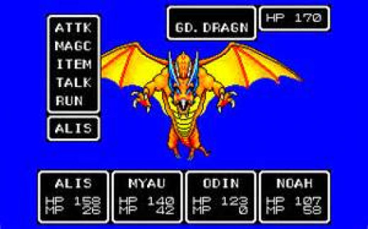 Phantasy Star is the biggest selling RPG for the Sega Master System.