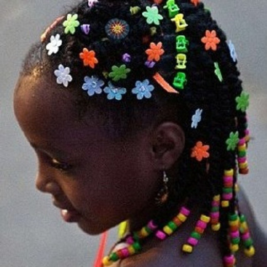 Modern African American Hairstyle