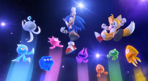 "Wisps: a contributor to the ""colors"" part of Sonic Colors."