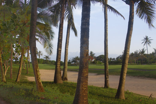 One of Indonesia's many great golf courses.