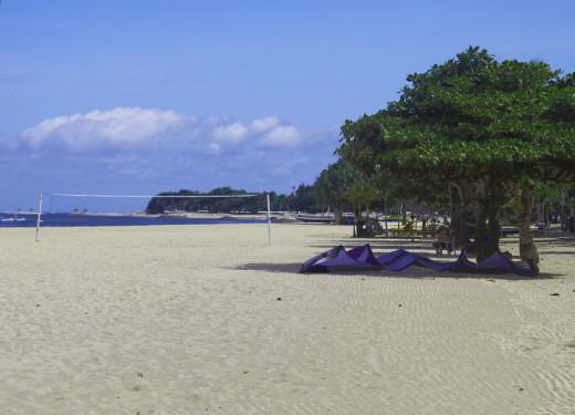 One of the fabulous Bali beaches.