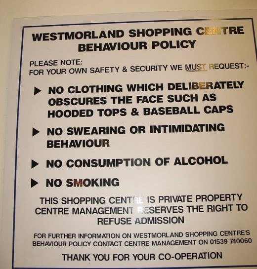 """No swearing or intimidating behaviour - geo"