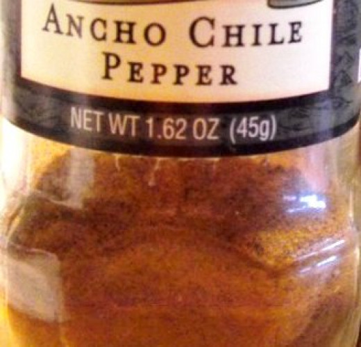 Add ancho chile to soup