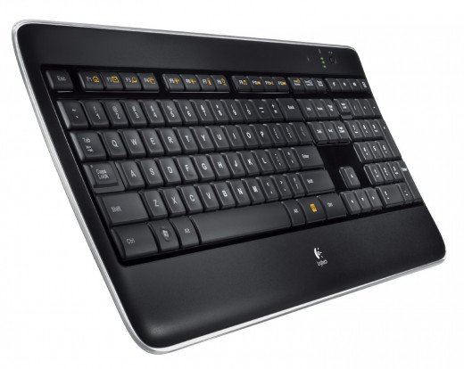 If you're willing to spend a little bit more for a keyboard with features like lighting, USB support, and enhanced comfort, the Logitech K800 is a good place to start.