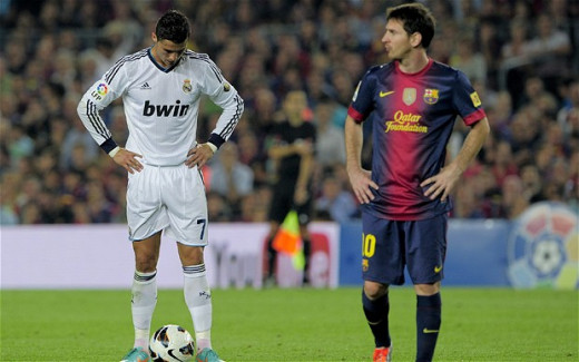 Messi and Ronaldo - the 'obvious' ones