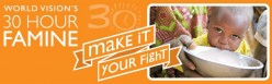 World Vision's 30 Hour Famine