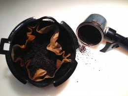 coffee and filters compost quickly.
