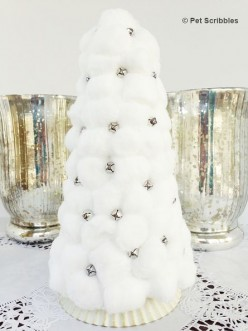 30 Cute  Cotton Ball Craft Ideas