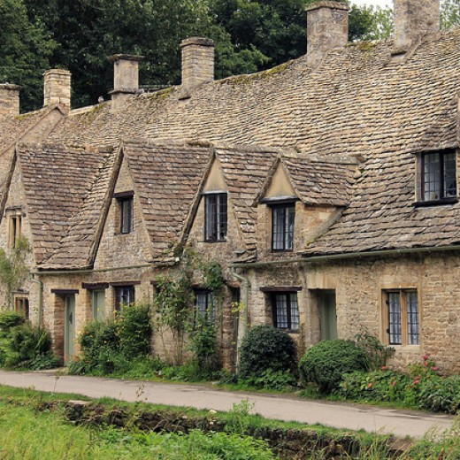 Typical Cotswold Cottages
