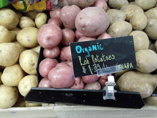 Red skinned potatoes for sale