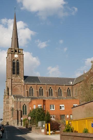 Church at Quesnoy-sur-Deûle