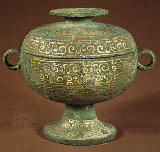 Ceremonial bronze fangyi, late 11th–early 10th century bc, Zhou dynasty; in the Freer Gallery of Art, Washington, D.C.