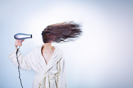 If you don't have time to blow dry and style your hair every morning, then don't pick a high maintenance hairstyle!