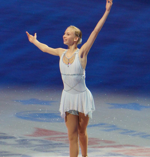 Reigning US Silver medalist Polina Edmunds at last year's US Nationals. I don't own this pic. No copyright infringement is intended. No edits made. Used via: https://creativecommons.org/licenses/by-sa/2.0/