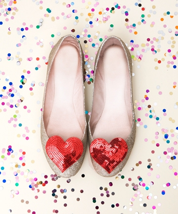 Heart clips for shoes