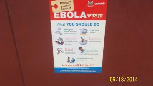 An Ebola Public Poster