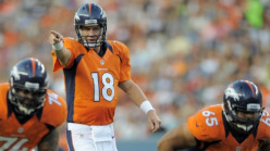 Peyton Manning:  Quarterback for the Denver Broncos