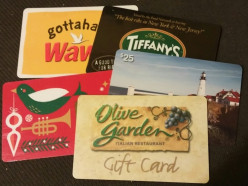 What can I do with unwanted gift cards