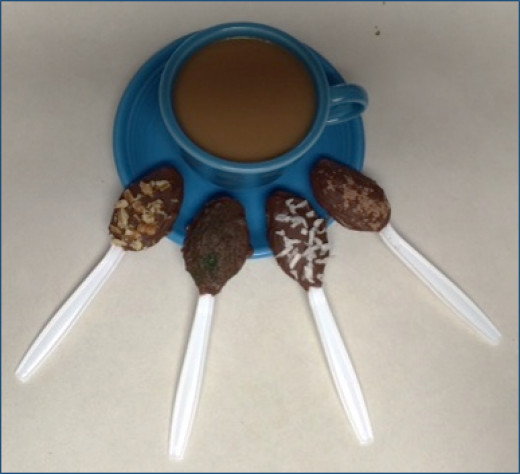 Chocolate Hazelnut Spread Spoons