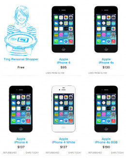 Buy used and refurbished iPhones and other smartphones at a much cheaper price than you would elsewhere or use the personal shopper to find the perfect phone (new or used) for you.