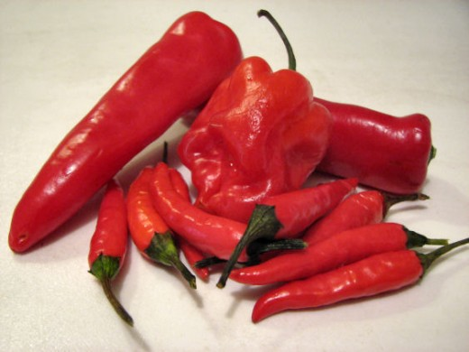 Chilli Peppers are high in vitamin C to help supercharge your immune system for less risk of illness