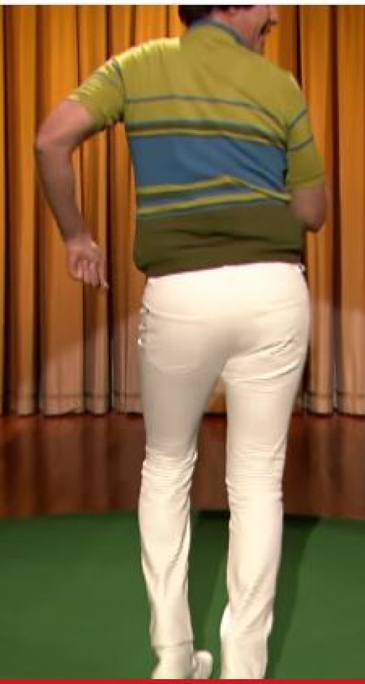 "Will Ferrell On The Jimmy Fallon Show Singing ""Tight Pants"""