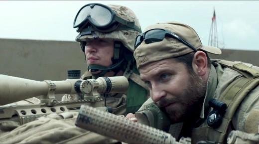 Bradley Cooper shines as U.S. Navy SEAL Chris Kyle.