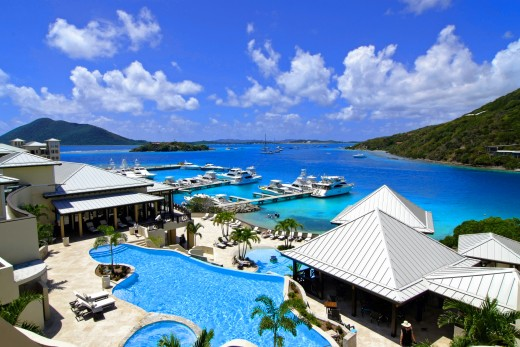 The British Virgin Islands are a great place to relax and be romantic.
