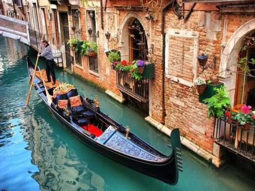 Wine and cheese on a gondola for two in Venice is a dream for many honeymooners.