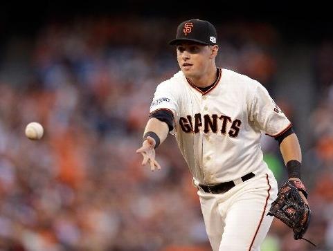 Joe Panik, 2B, San Francisco Giants