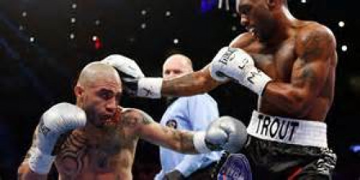 Austin Trout beat Miguel Cotto in hostile territory, Madison Square Garden. Trout and Cotto tangled for the 154 pound championship.