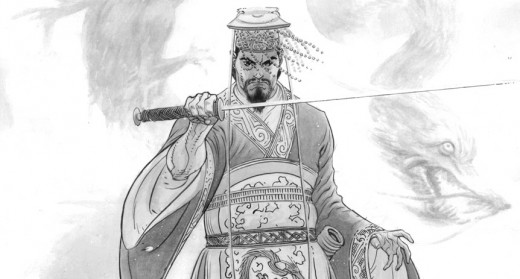 """The Yellow Emperor"" by Micah Gunnell"