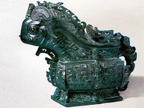 Bronze Wine Vessels of the Shang and Zhou Dynasties
