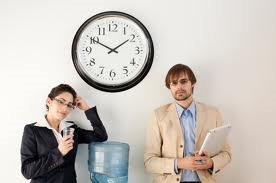 """These ARE time-wasters. But hey are known as """"clock watchers"""""""
