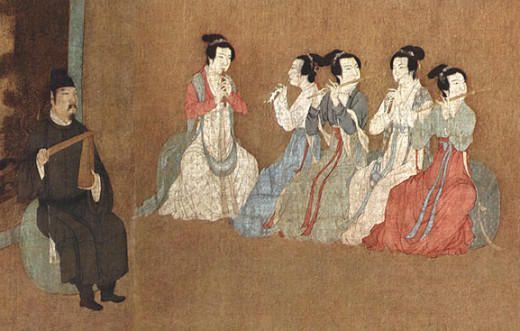 Shenyi (深衣) a type of Han Chinese clothing commonly worn from the pre-Shang periods to the Han Dynasty.