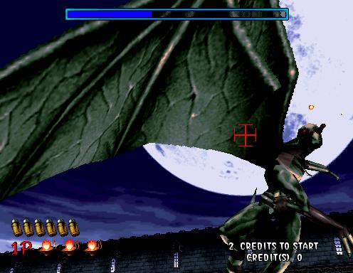 The Hanged Man attacks Rogan.