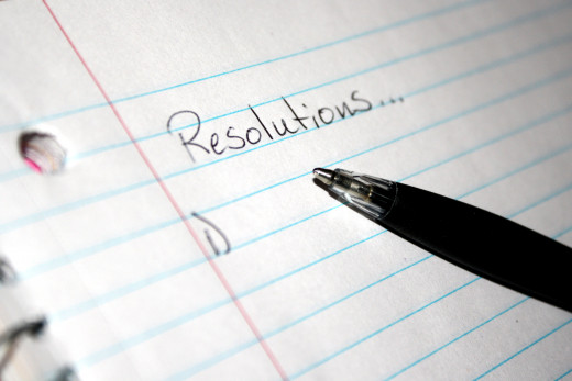 What was your first Resolution?