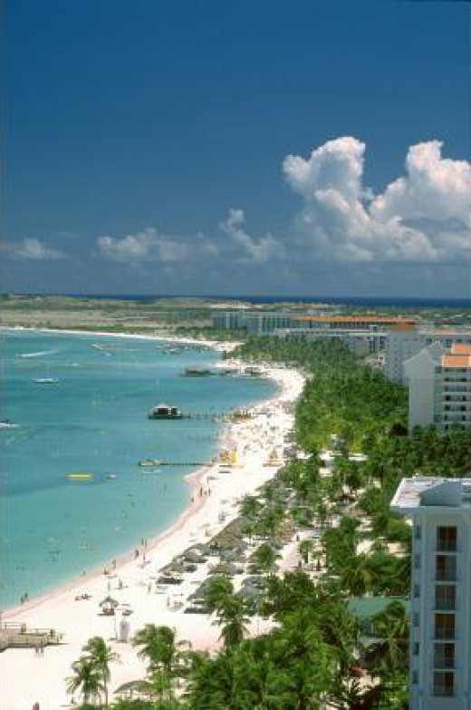 Palm Beach. © Aruba Tourism Authority