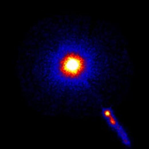 3C 273, the first quasar found.
