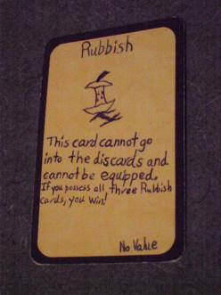 Custom Card Ideas: Rubbish