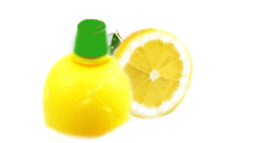 Lemon juice, packaged or fresh cuts alkali.