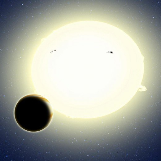 Artist's conception of HIP 116454b