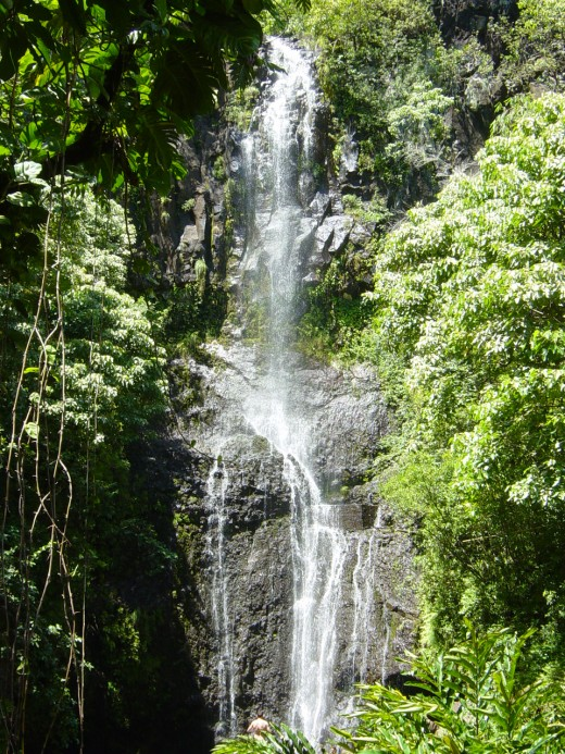 Waterfalls abound on the Road To Hana