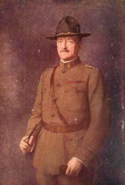 1903 Portrait of General John J. Pershing by French Painter Léon Hornecker