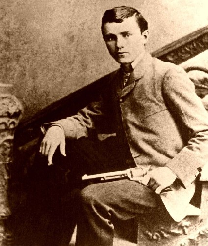 Bob Ford the coward who shot Mr. Howard in the back. Mr. Howard was an alias Jesse James was using when he was killed.
