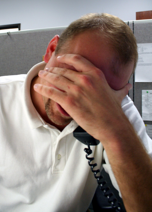 Calls from debt collectors are stressful!