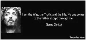Jesus Christ teaches the way